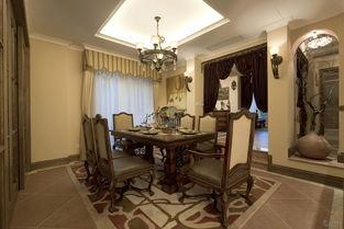 别墅装修 实景美式设计风格图片