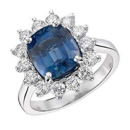 ...e Nile 蓝宝石钻戒(售价:12000$)-17款绚丽珠宝婚戒美到窒息