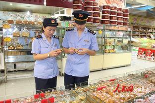 休宁县工商局体检月饼市场