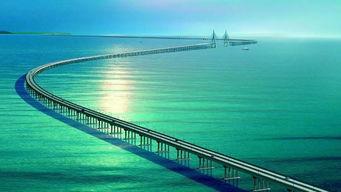 港珠澳大桥,世界最长跨海大桥