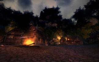 禁地暮色之村场景图