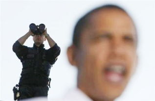 看美国特工如何保卫奥巴马[组图]