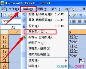 ...cel2007截图快捷键的使用教程