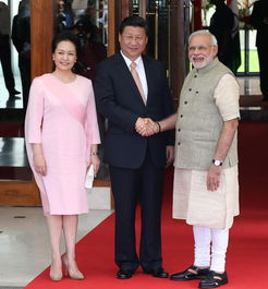 印度总理莫迪全程陪同.