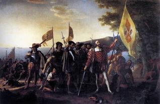 哥伦布发现西印度群岛)