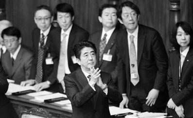 安倍施政演说望与中韩再交好