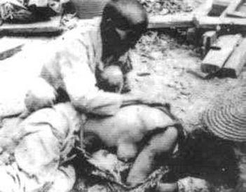 日军铁蹄下的中国妇女,实在太残忍不忍心看
