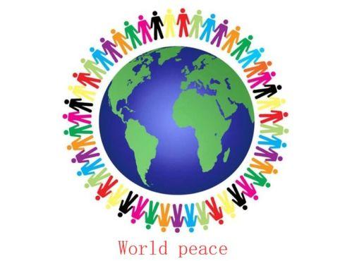 和平用英语怎么说