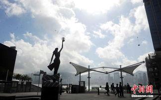 香港星光大道重修 铜像手印迁至花园