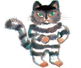 想换口味的猫咪绘本