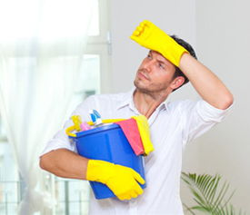 男人不爱做家务