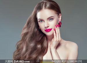 侧偏造型美女人物写真摄影高清图片