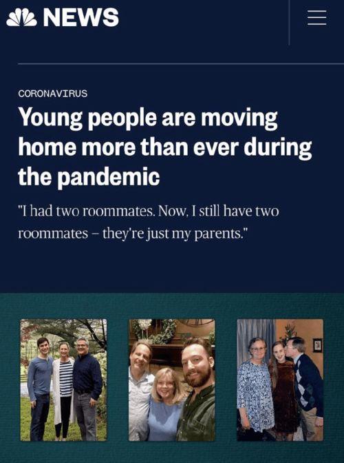 疫情下美国经济啃老人数竟超大萧条,租房市场躺着中枪