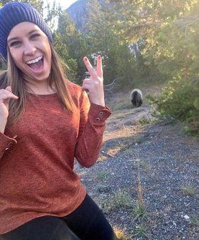 美国兴起游客与野熊自拍 引发安全担忧
