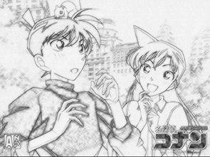 谁有日本动漫的素描图