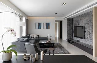 清新简单客厅效果图