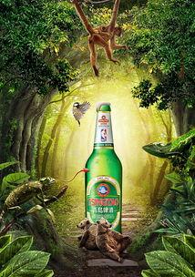 青岛啤酒-1688二维码海报