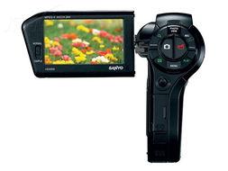 三洋 SANYO VPC HD2000 数码摄像机 外观 清晰大图 精彩图片