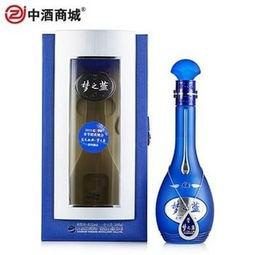 洋河梦之蓝的价格(梦3多少钱一瓶)