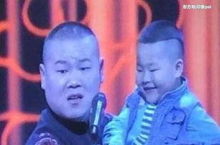 岳云鹏撞脸孩同台儿童版小岳岳被抱起组图