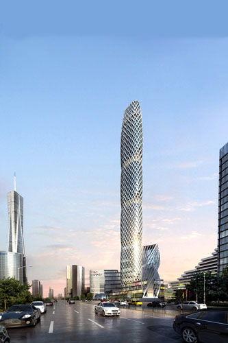 郑州华南城地标性建筑