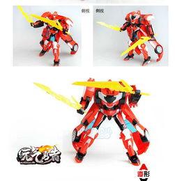 智尊霹雳勇士之元气勇者 星魂2百变机兽烈风变形机器人全套装儿童玩具
