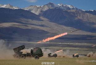 图片说明:6月3日,驻藏某山地旅组织炮兵分队进行实弹射击训练.