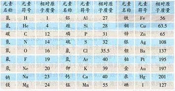 242*467图片:共同元素和相对原子量的符号 365bet备用投注网址