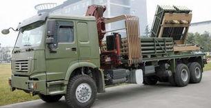 国产新型ws-22型模块化火箭炮
