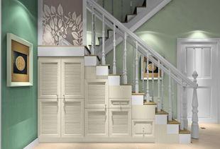 楼梯下衣柜