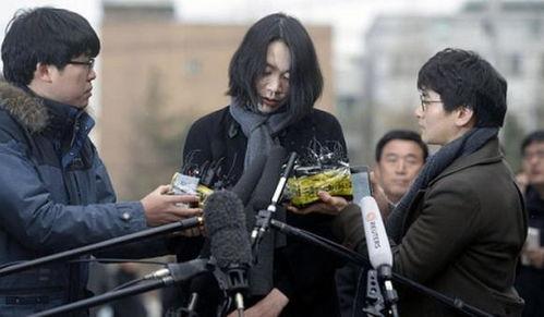 前大韩航空副社长赵显娥接受采访.