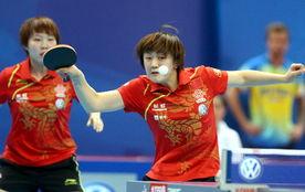 乒乓球团体赛况稿件