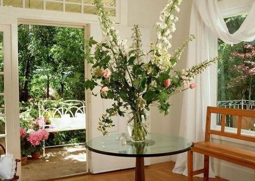 室内装修养花