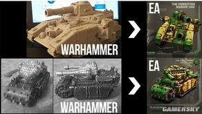 EA旗下 命令与征服 泰伯利亚联盟 页游被指控抄袭 战锤40K