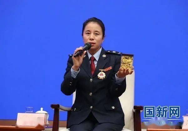 国家税务总局亳州市税务局副科长刘双燕(摄)