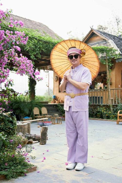 陶虹携前夫做客向往沙溢蘑菇屋跳起傣族舞
