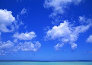 纯天空图片天空背景云朵蓝天白云