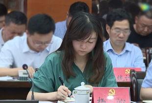 ▲九江银行湖口支行行长杨沁,29岁挂职副县长.