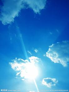 手绘天空背景图片