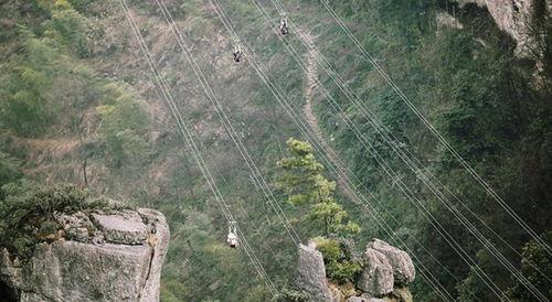 揪心网红景点女子速滑索道高空坠亡此前就有惊险一幕