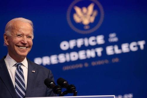 美国当选总统拜登(路透社)