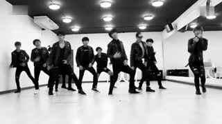 EXO Growl咆哮舞蹈练习室版