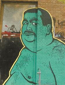 记录涂鸦给都市的忙乱留一小撮幽默
