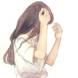 短头发动漫女生头像 短头发女生头像