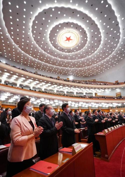 十三届全国人大三次会议闭幕会现场。