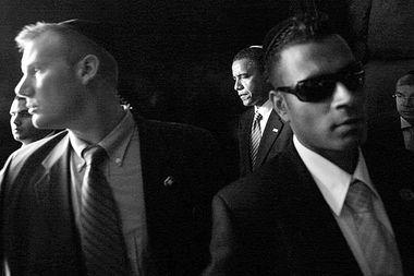 美国特工保护总统奥巴马