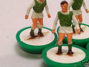 Subbuteo Football Team HW REF 45 Hibernian FC HW Collar