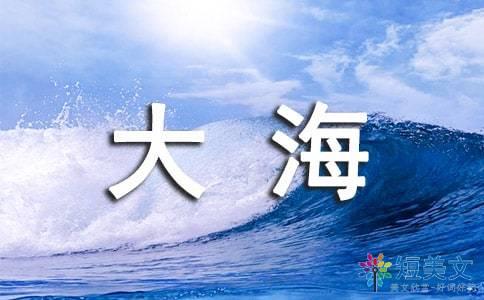 描写大海词语四字词语