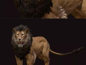 雄狮3d模型设计图下载 图片7.75MB 其他模型库 其他模型