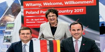 继印度和美国之后,波兰将成为2017年汉诺威工业博览会的合作伙伴国——这不仅仅是因为德国是波兰的最大贸易伙伴国,更是由于波兰的工业在增长和创新方面一直进步迅速.